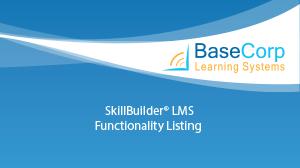 SBFunctionalityListing